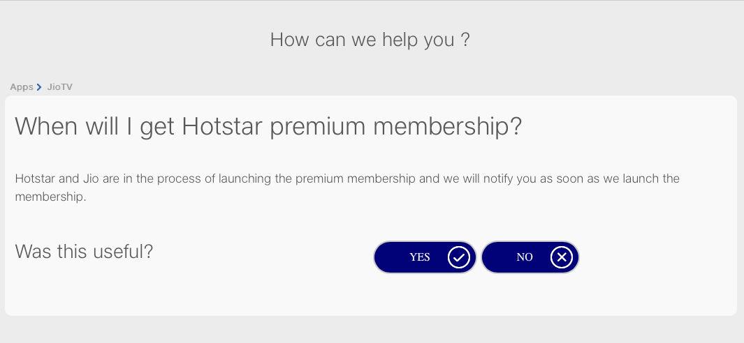 Reliance Jio will soon offer Disney+ Hotstar premium membership