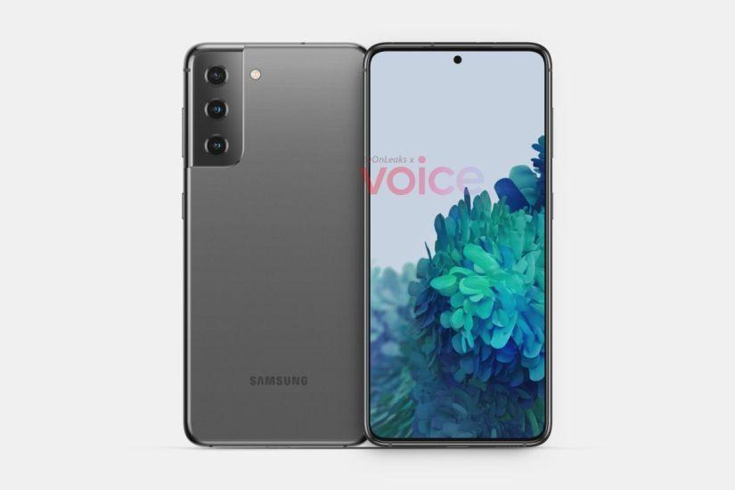 Samsung Galaxy S21 CAD renders