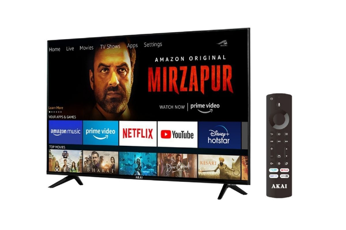 The new AKAI smart TV runs Amazon's made-for-TV user interface