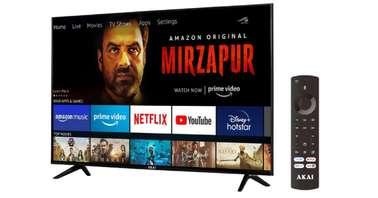 The new AKAI smart TV runs Amazon's made-for-TV user interface