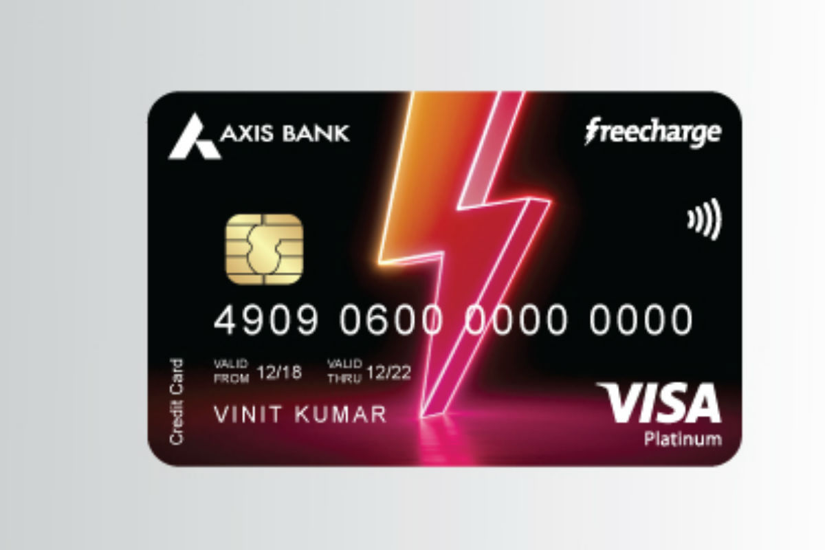 Axis Bank Freecharge credit card
