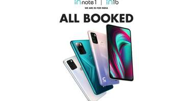 Micromax In Note 1 and 1N 1B booked