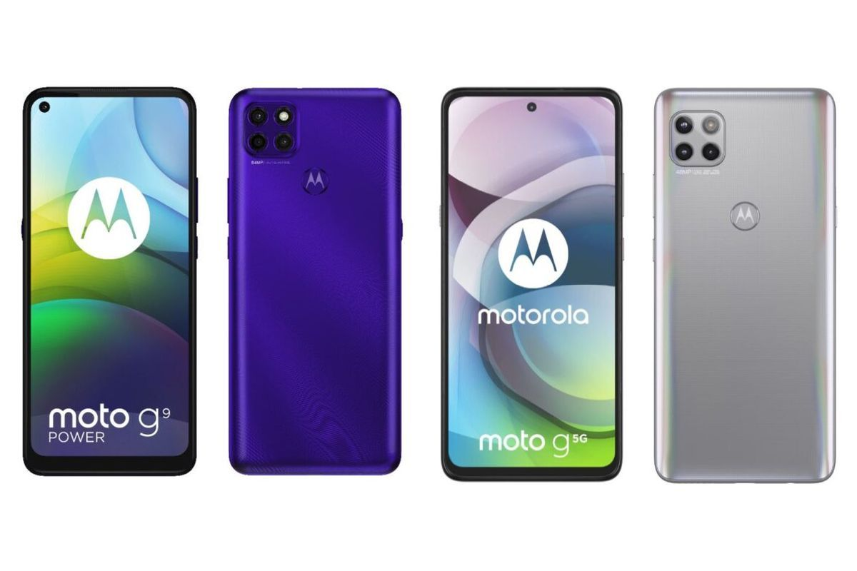 Moto G9 Power and Moto G 5G