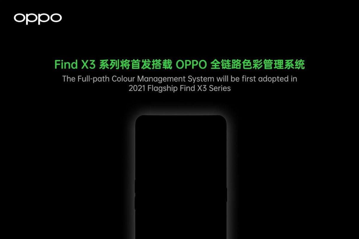 OPPO Find X3 series