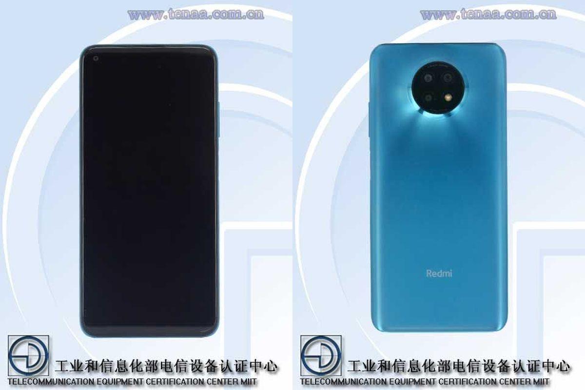 Redmi Note 9 Standard Edition M2007J22C TENAA-