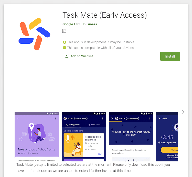 Google Task Mate app can be downloaded from Play Store
