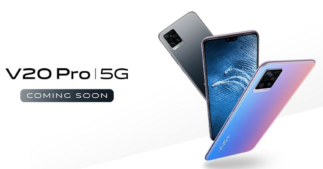 Vivo V20 Pro 5G launch soon-