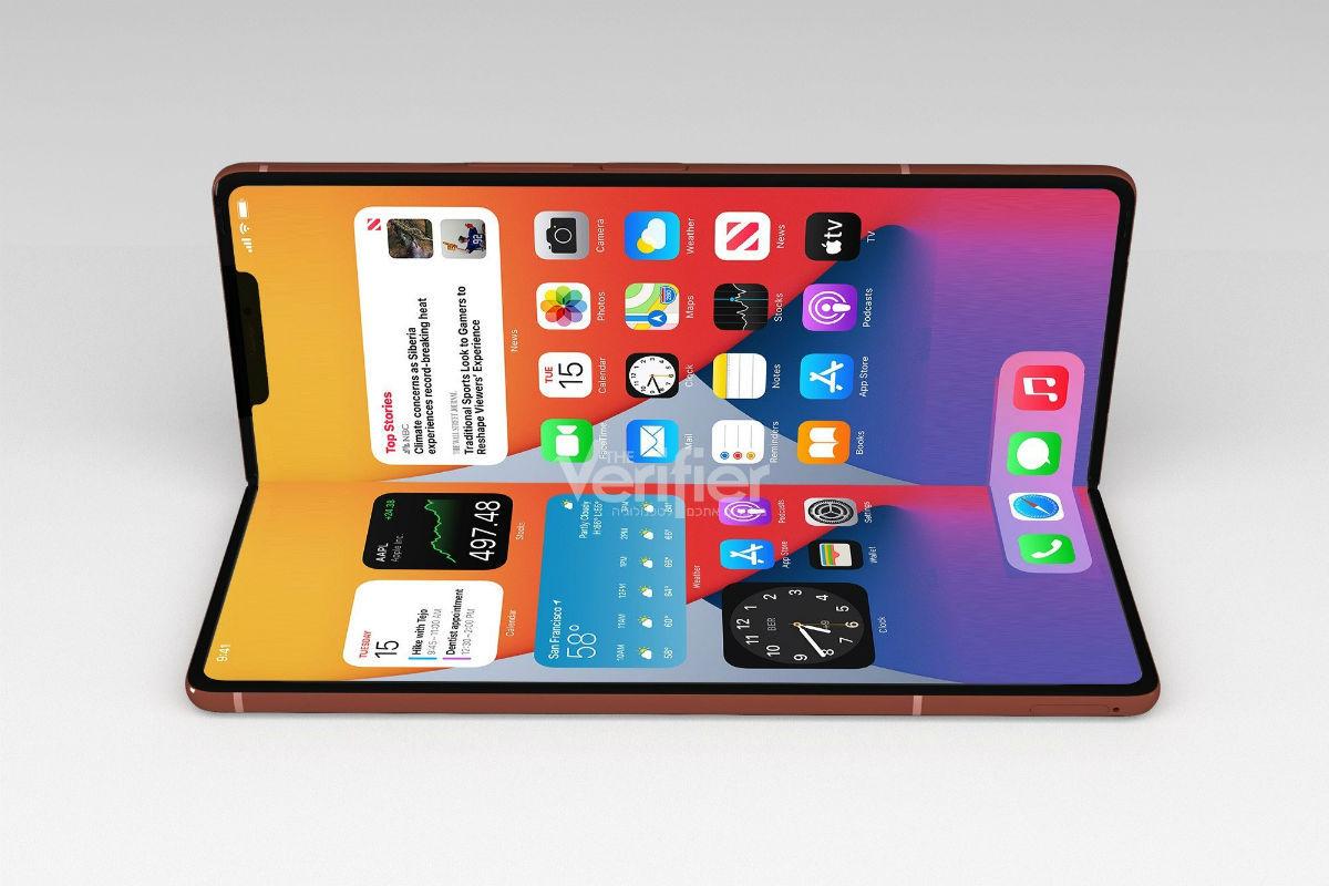 Apple folding iPhone