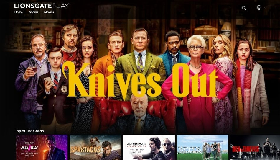 Lionsgate Play is now available as a standalone service in India