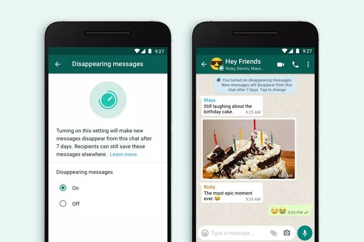 WhatsApp is now rolling out disappearing messages in the latest Beta update