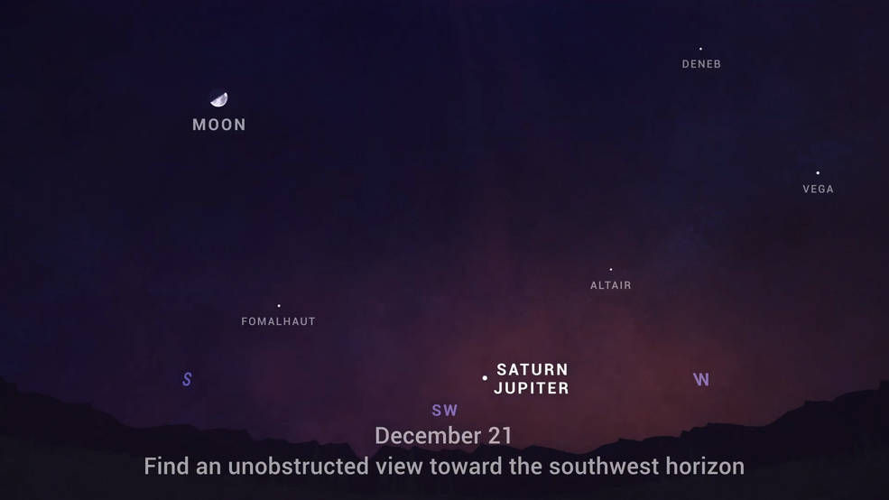How to see Jupiter in night sky