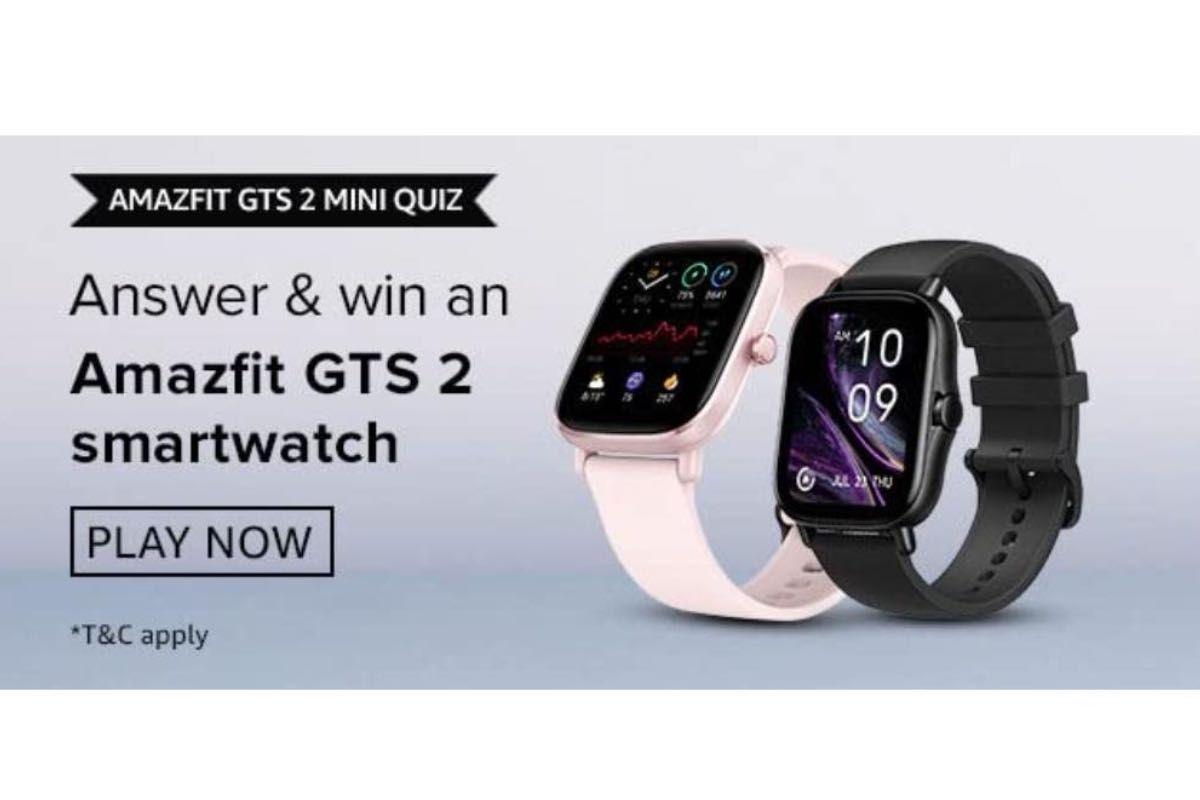 Amazfit GTS 2 mini Quiz