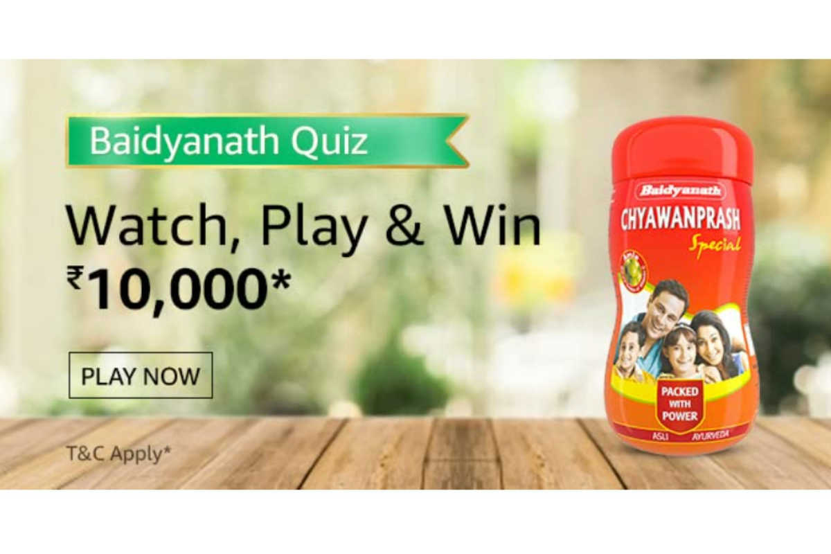 Amazon Baidyanath Quiz