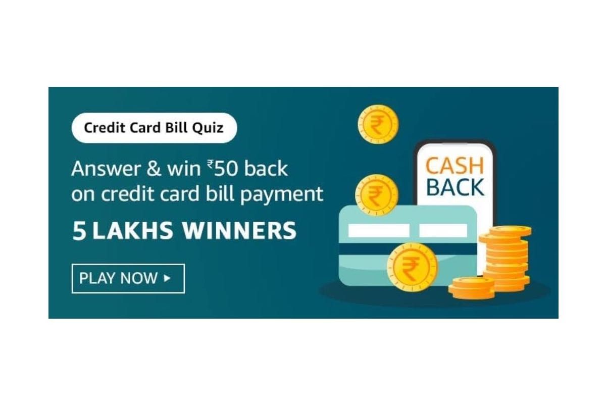 Amazon Credit Card Bill Quiz