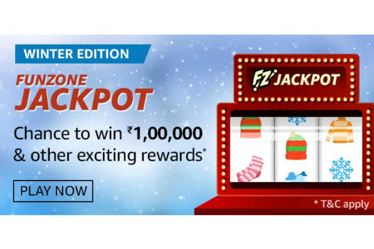 Amazon Funzone Jackpot Winter Edition