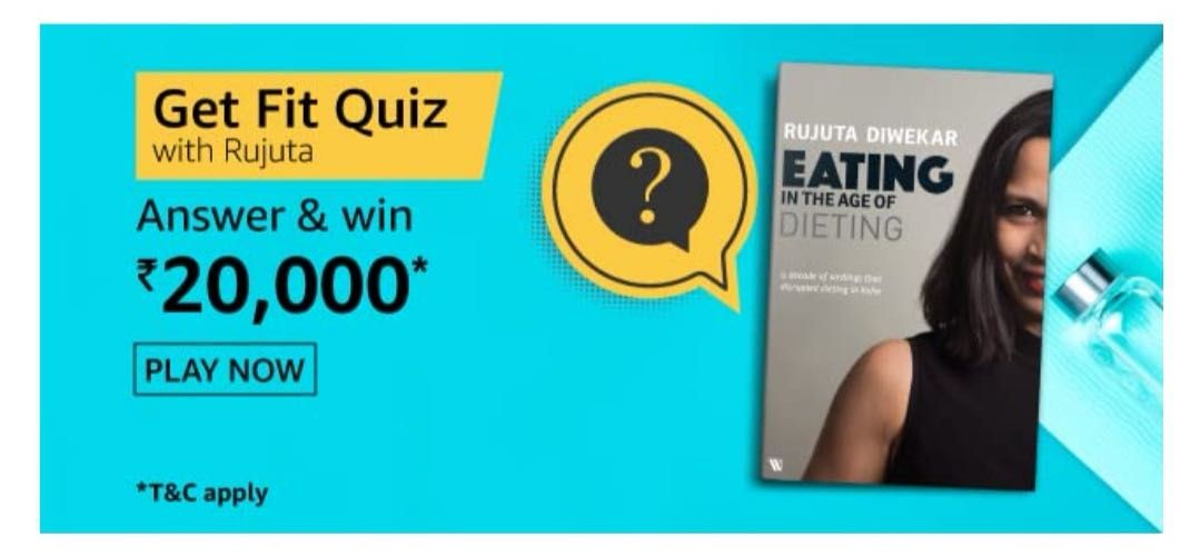 Amazon Get Fit Quiz