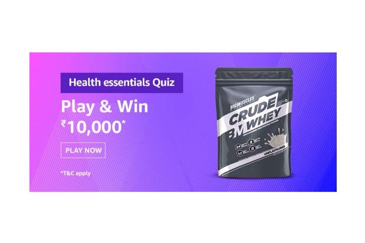 Amazon Health essentials sale quiz