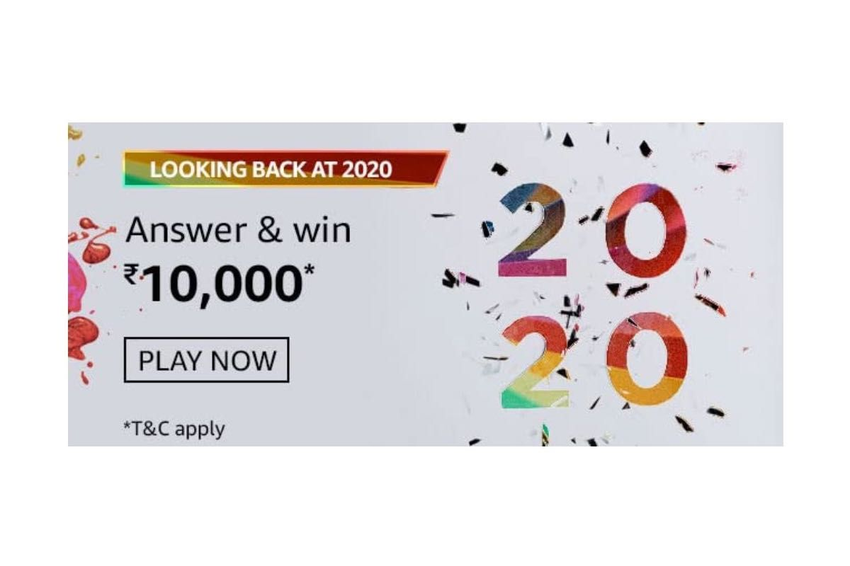 Amazon Looking Back at 2020 Quiz