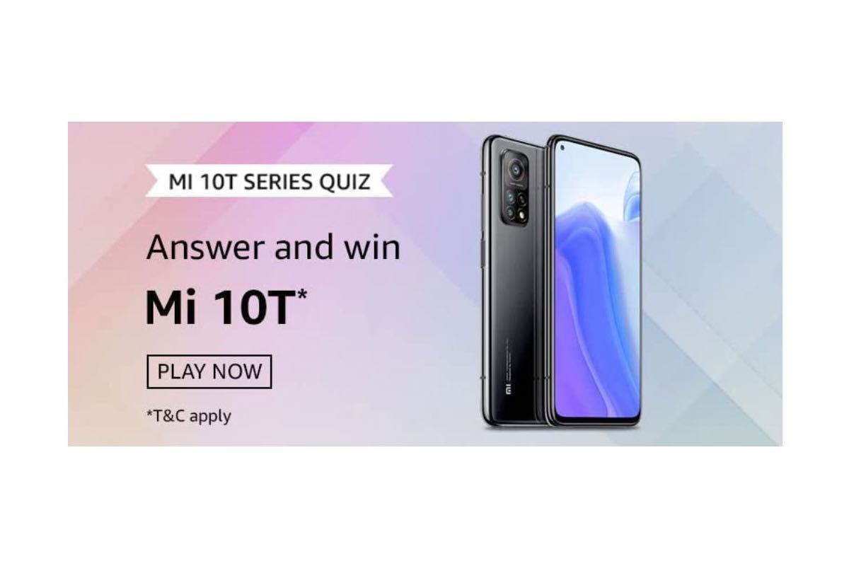 Amazon Mi 10T Series Quiz