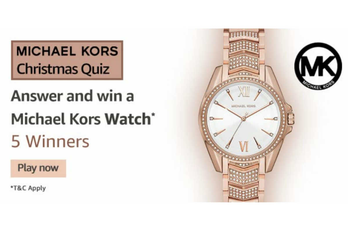 Amazon Michael Kors Christmas Quiz