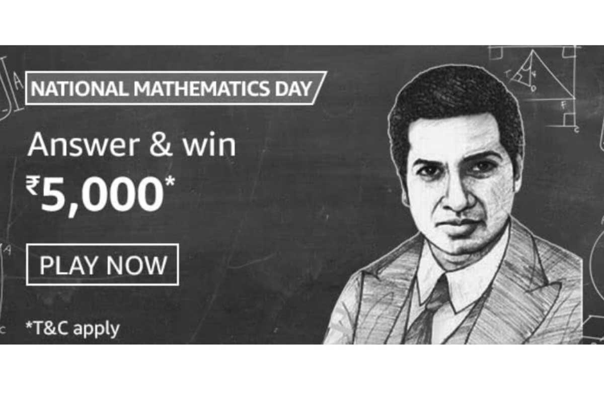 Amazon National Mathematics Day Quiz