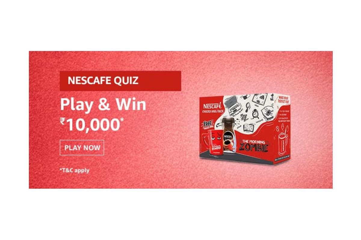 Amazon Nescafe cheeky mugs Quiz