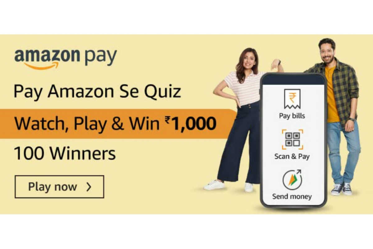 Amazon Pay Amazon Se Quiz