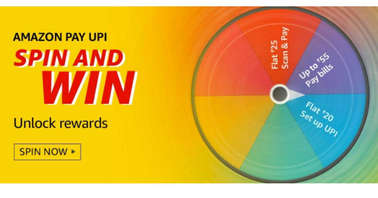 Amazon Pay UPI Spin and Win