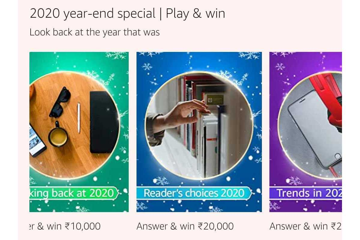Amazon Reader's Choice 2020 Quiz