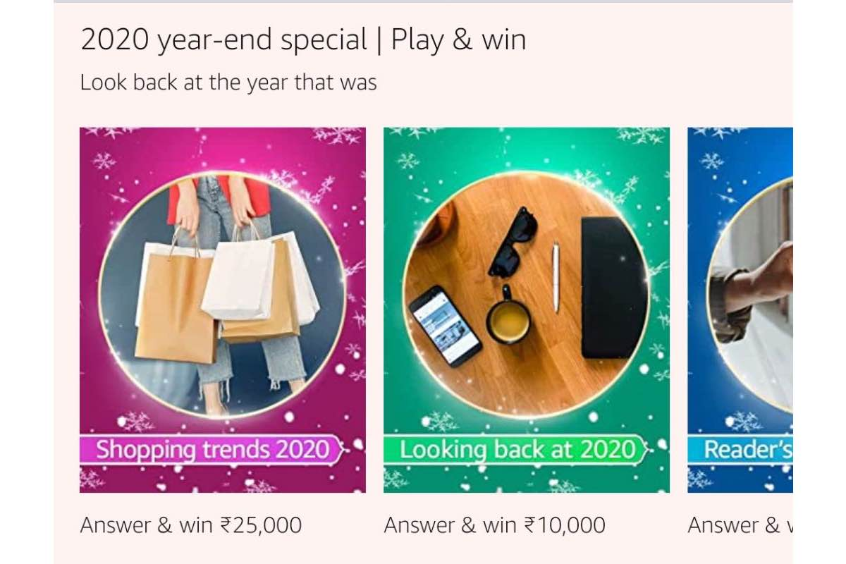 Amazon Shopping Trends 2020 Quiz