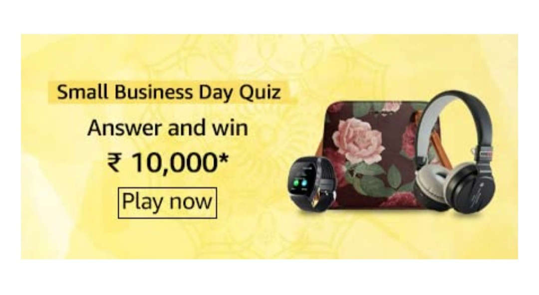 Amazon Small Business Day Quiz