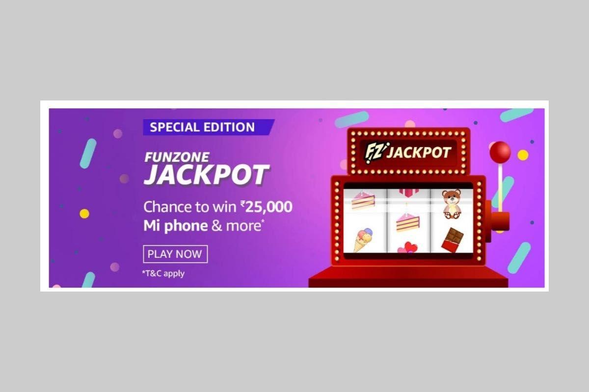 Amazon Funzone Jackpot Special Edition Quiz