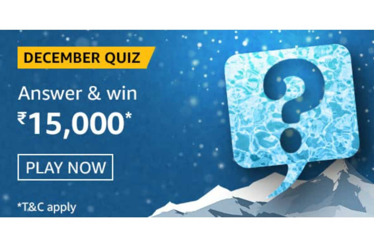 Amazon The December Quiz