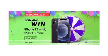 Amazon Welcome 2021 Spin and Win quiz