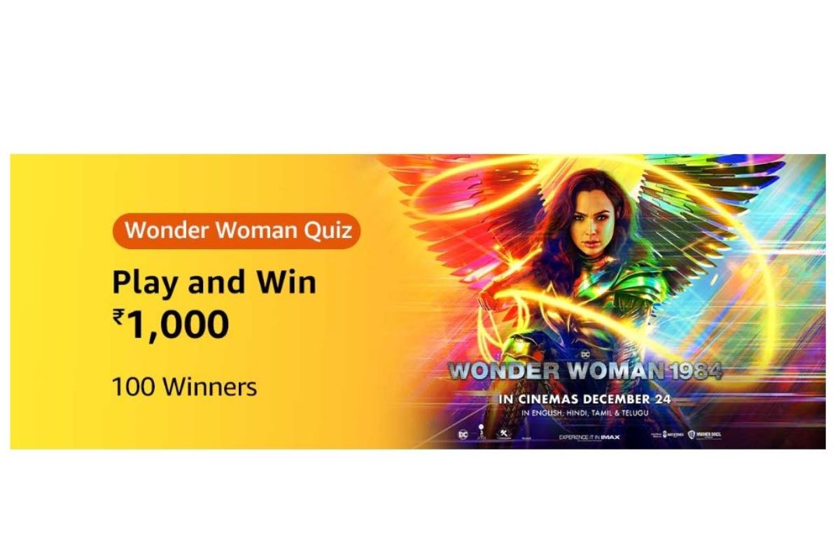 Amazon Wonder Woman Quiz