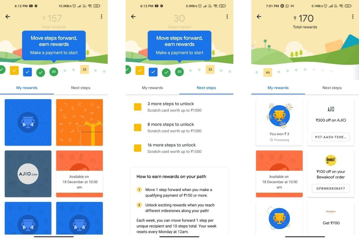 Google introduces rewards path for its users to earn rewards in an interactive way