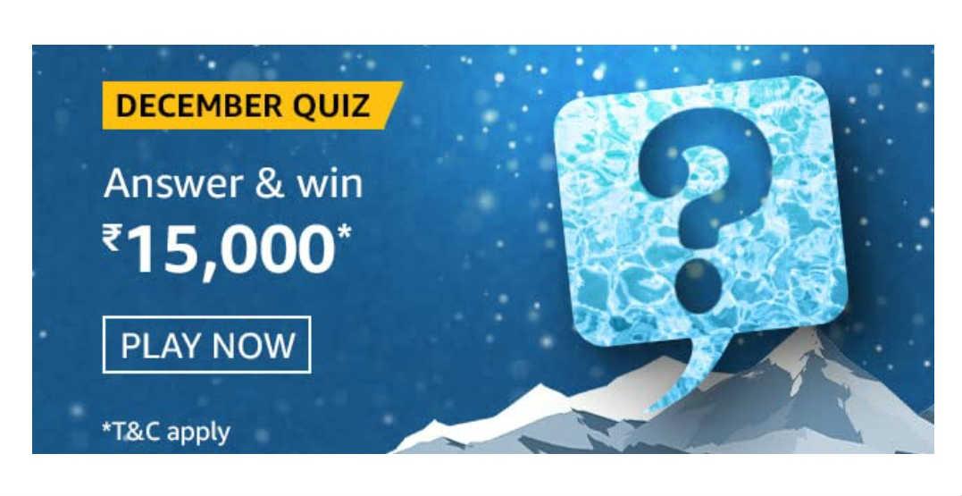 Amazon The December Quiz