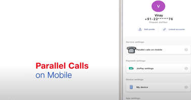 JioFiber users can now attend JioFixedVoice landline calls on their smartphone