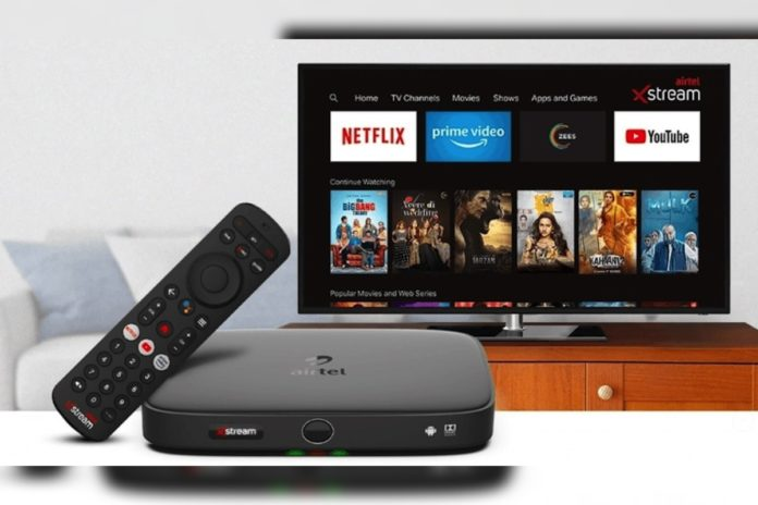 Airtel DTH refresh can be done through missed call and SMS