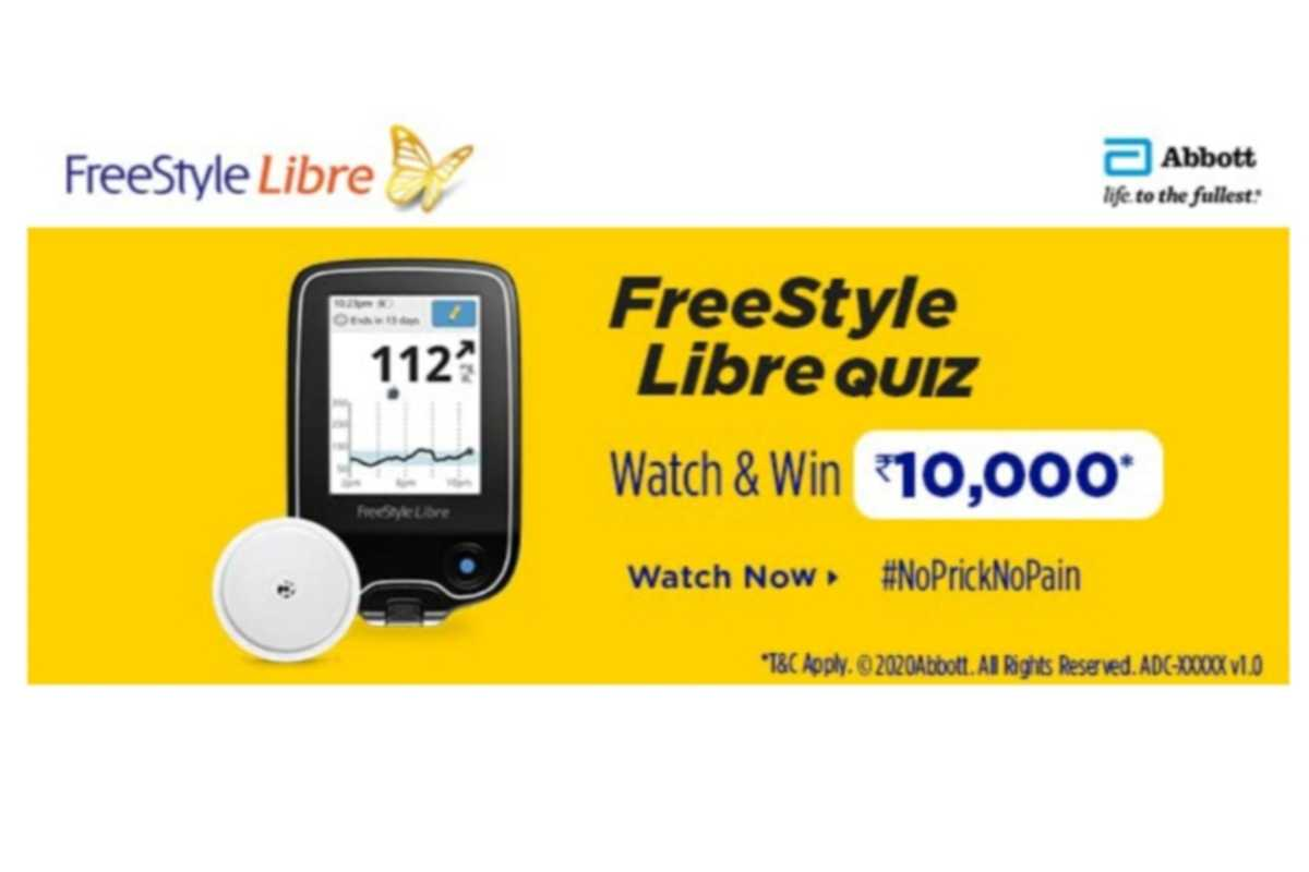 Amazon Abbott Freestyle Libre Quiz