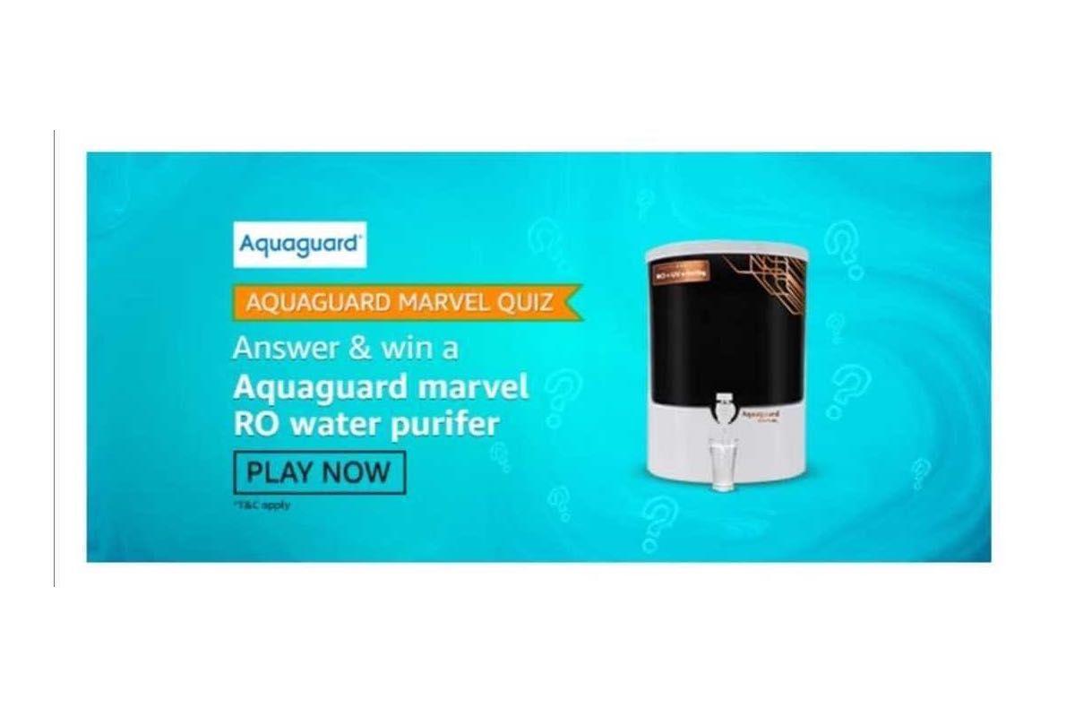 Amazon Aquaguard Marvel Quiz