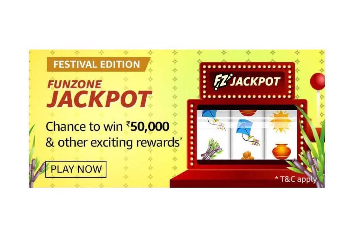 Amazon Festival Edition Funzone Jackpot Quiz