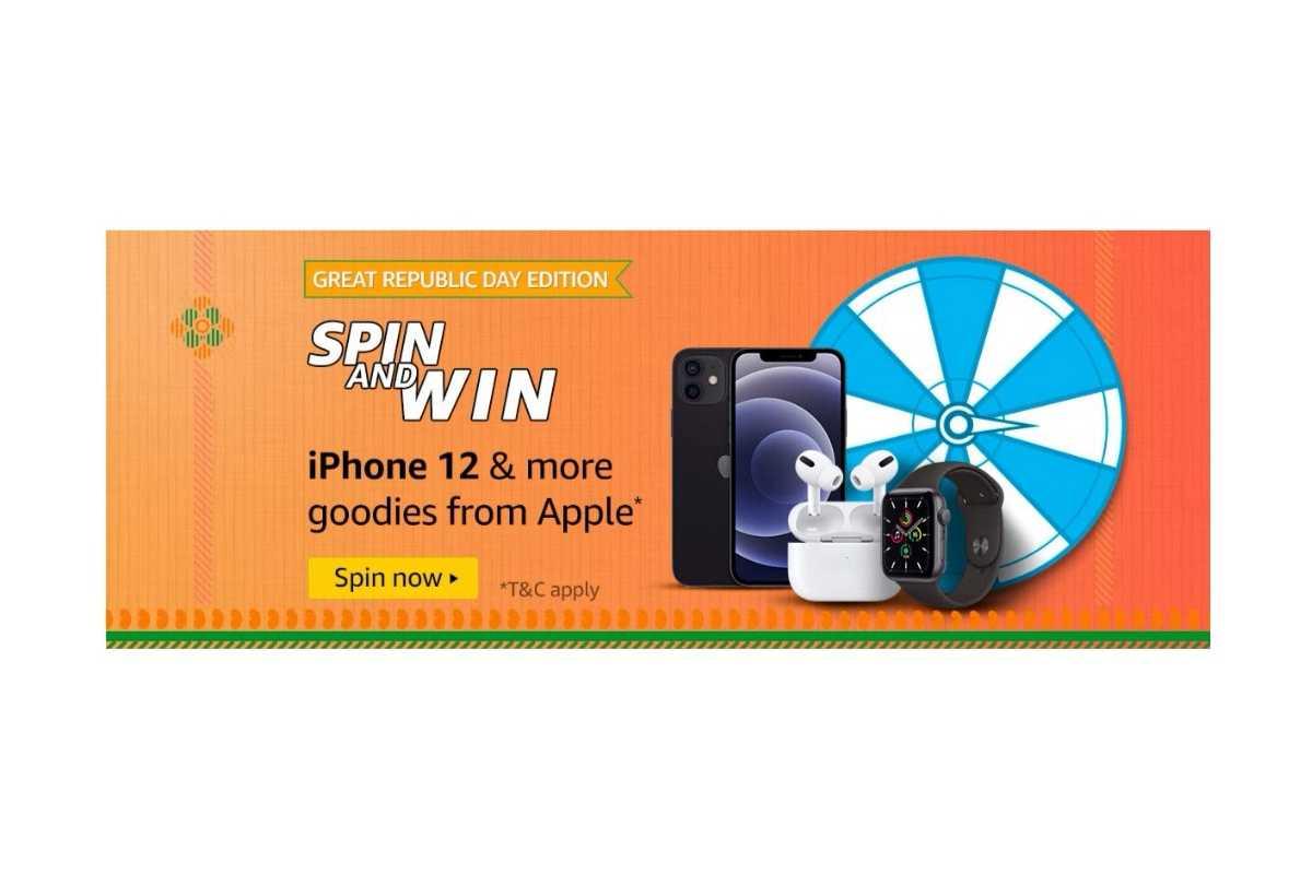 Amazon Great Republic Day Edition Spin and Win Quiz