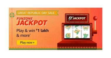 Amazon Great Republic Day Sale Funzone Jackpot Quiz