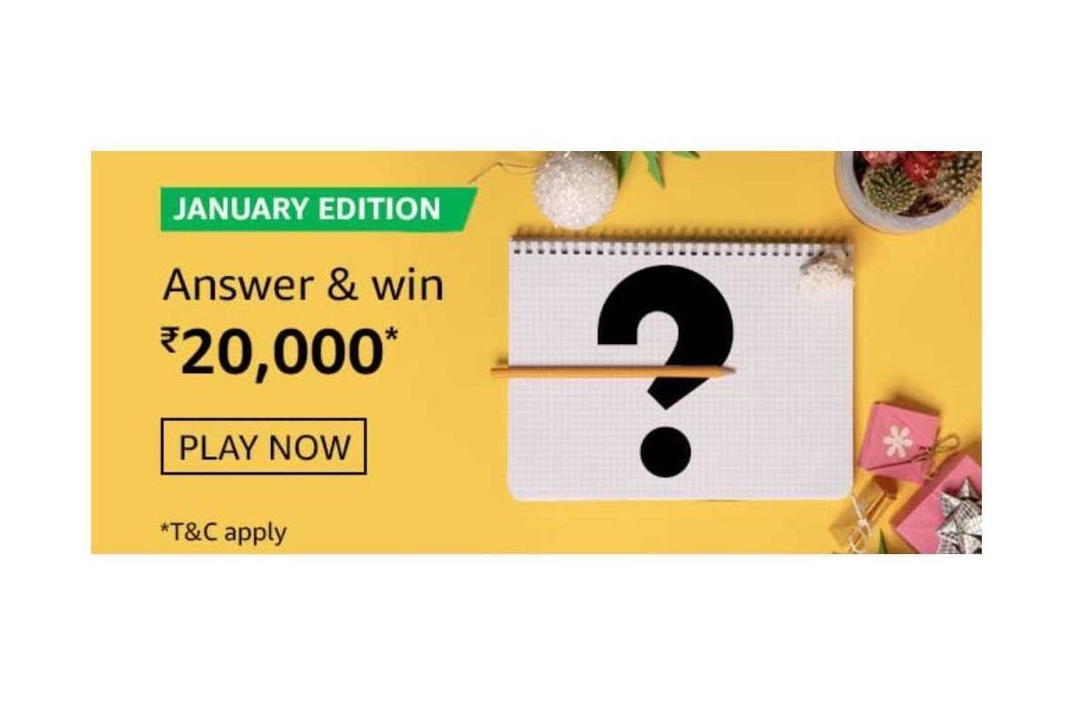 Amazon January Edition Quiz