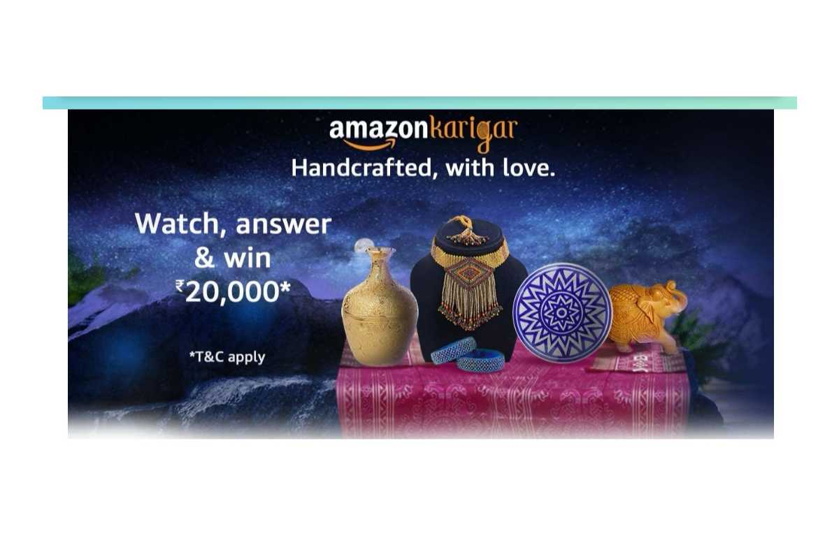 Amazon Karigar Handicrafts Quiz