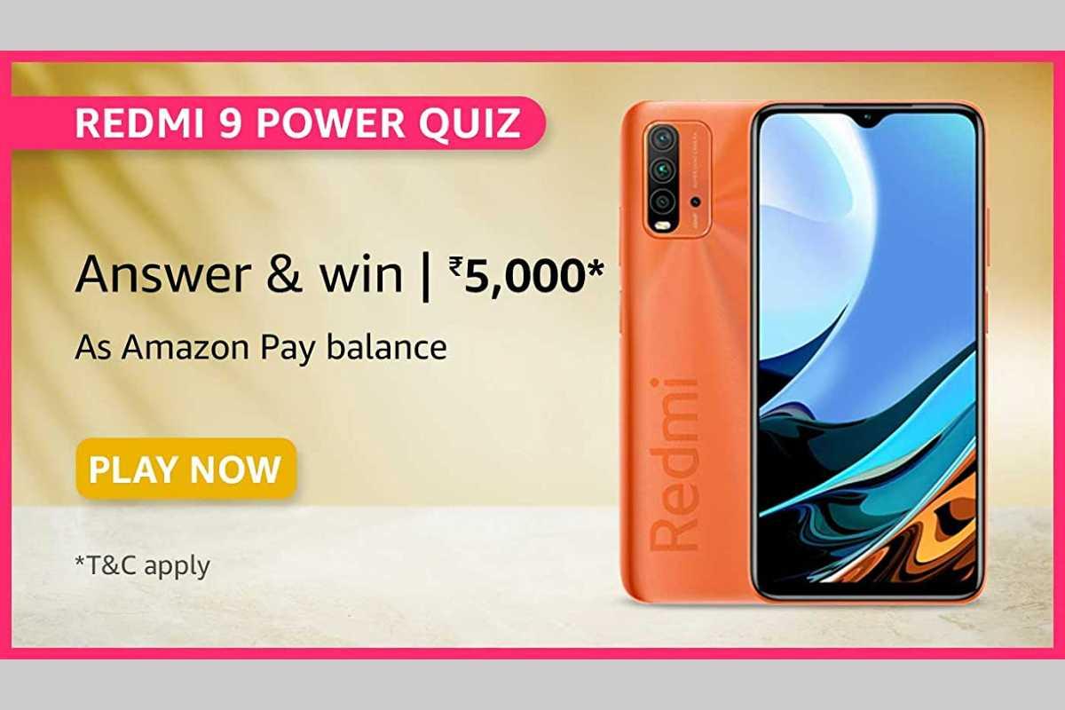 Amazon Redmi 9 Power Quiz