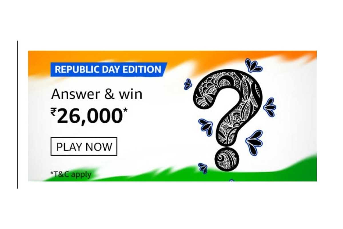 Amazon Republic Day Edition Quiz