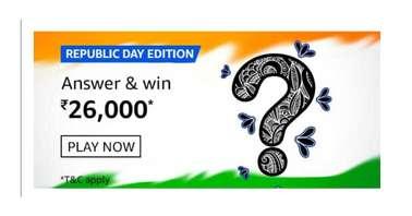 Amazon Republic Day Edition Quiz