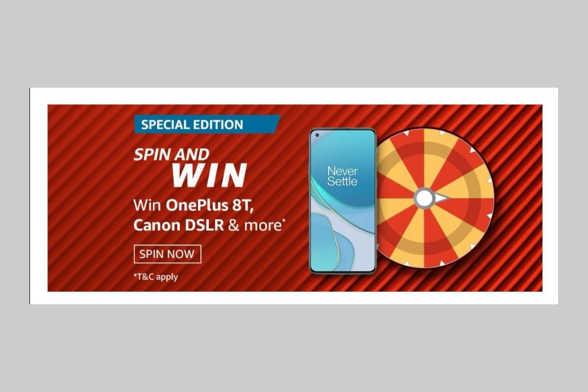 Amazon Spin and Win Special Edition Quiz